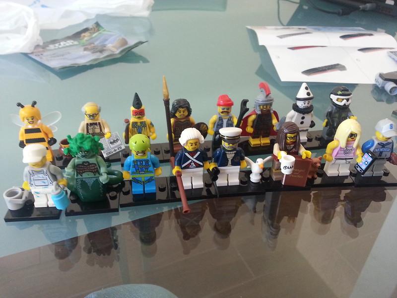 Lego Series 10 Opened