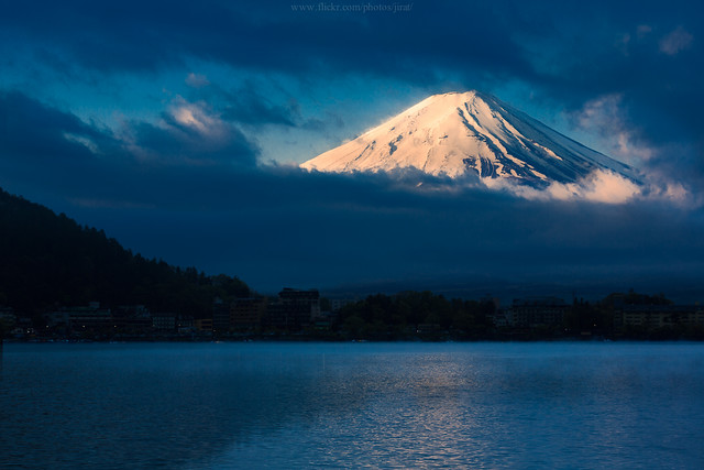 """First Light"" @ Mt.Fuji"