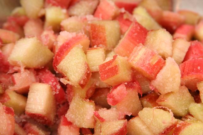 rhubarb cake 2