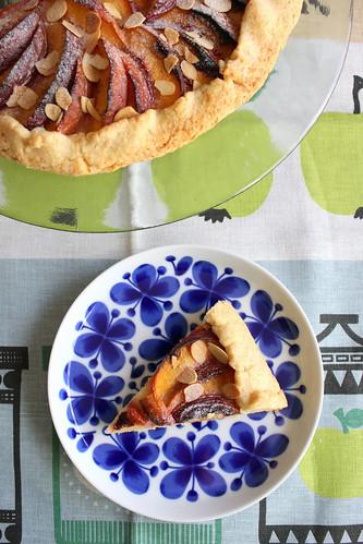Tarte rustique aux nectarines タルト・リュスティック
