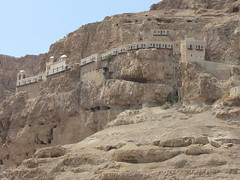 Jericho, West Bank, Israel and Palestinian Territories - Mount of Temptation