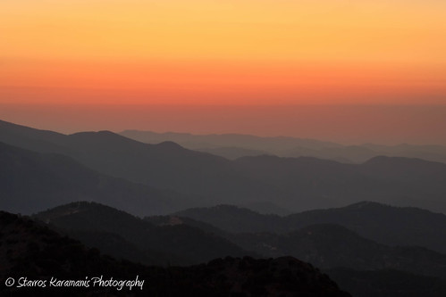 sunset landscape landscapephotography mountains mountainside sky colours outdoor mountain depthfield fog mist misty afternoon canonphotography canonusers canon dslr t3i ef35350mmf3556lusm madari cyprus foothill hill cloud ngc