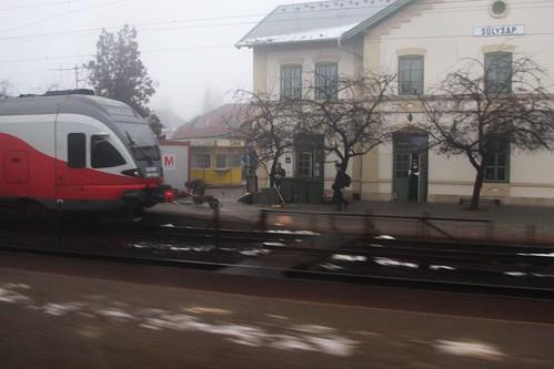 MÁV Stadler 'FLIRT' EMU at Sülysáp station