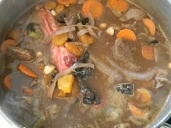 Beginning of Lamb Stew