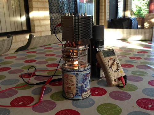 Testing Oil Lamp