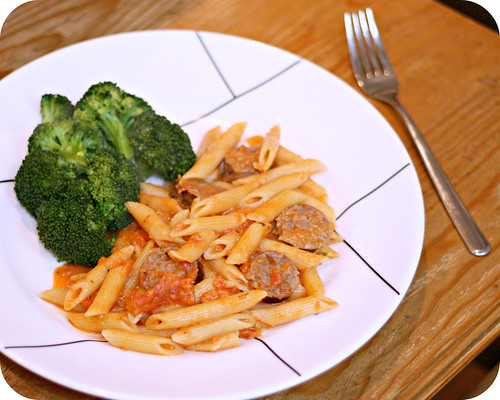 So Tasty So Yummy: Penne with Vodka Sauce and Italian Sausage