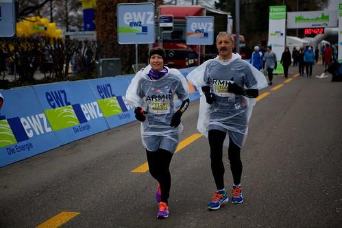 Während dem Marathon 2013