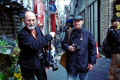 Raymond and Graeme in Motomachi
