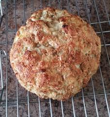 Gluten-free soda bread done