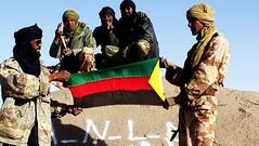 (Des combattants du MNLA. Crédit photo : anonyme)