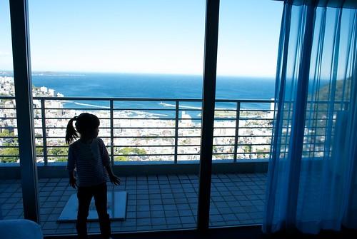 海の見えるまど