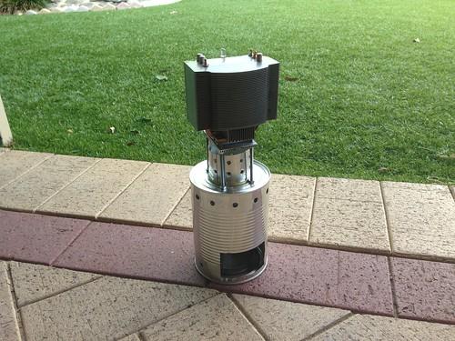 Alcohol Burner Generator