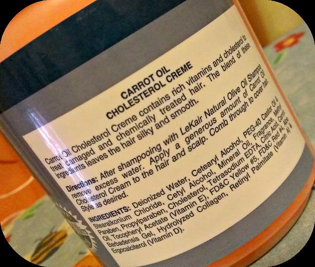 LeKair Natural Carrot Oil Cholesterol Creme