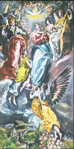 エル・グレコ「無原罪のお宿り」1607‐13年(パンフレット) by Poran111