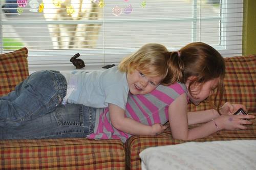 Sister Snuggles