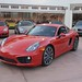NEW 2014 Porsche Cayman S 981 FIRST PICS in Beverly Hills 90210 Guards Red 1204