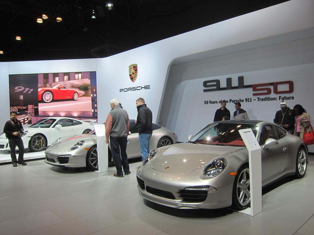 Porsche 911 50 Year Celebration