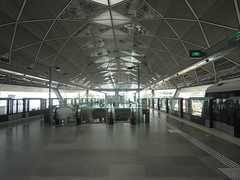Expo MRT Station Island Platform