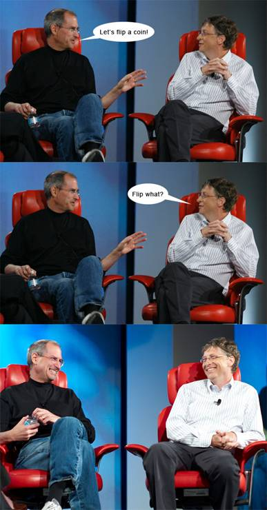 3 Dialogues: Bill Gates Dialogue with Steve Jobs