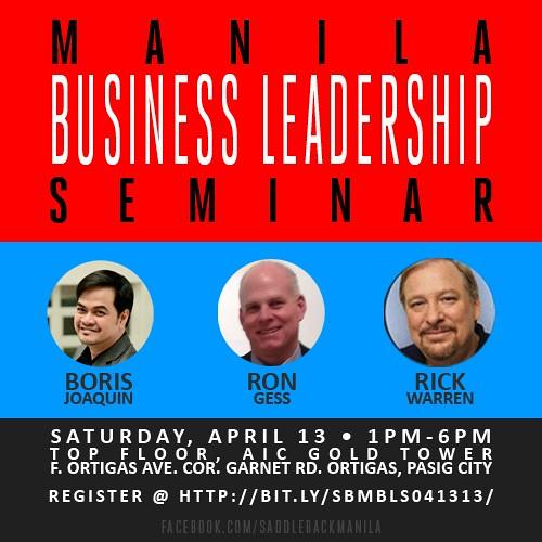 Manila Business Leadership Seminar