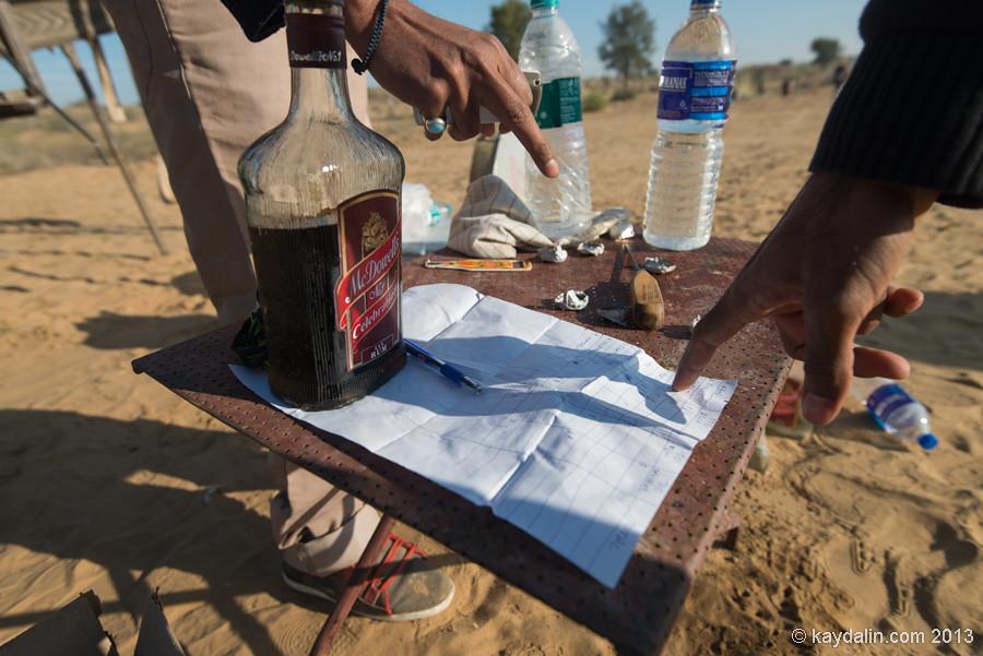 Счет за выпивку в пустыне