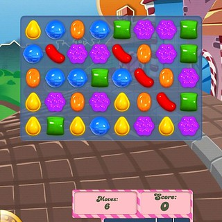 le jeu: Candy Crush