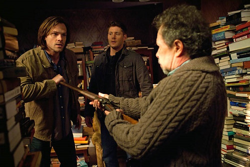 Recap/review of SUPERNATURAL 8x21 'The Great Escapist' by freshfromthe.com