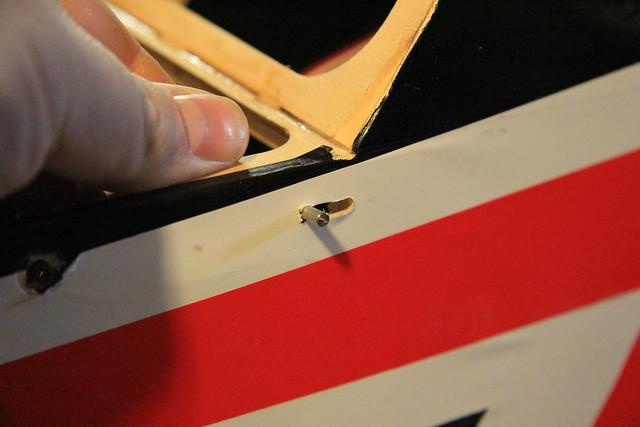 Port latch - test fit