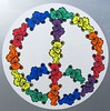 Grateful Dead Bear Peace Sign