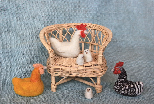 Chickens! From Fiber Friends