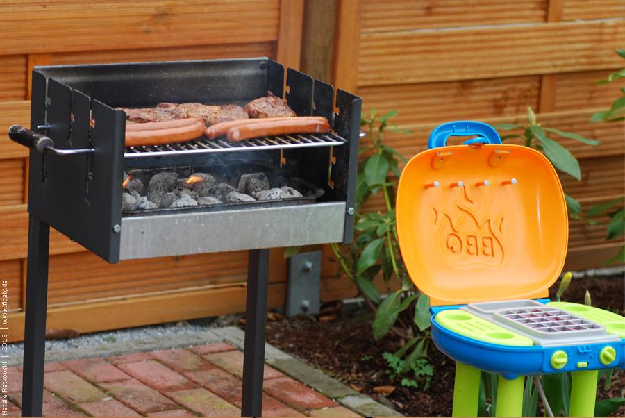 Barbecue season has begun