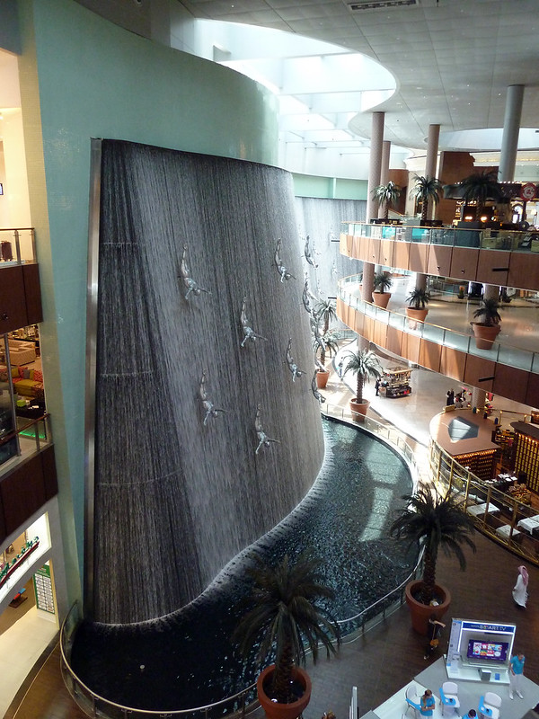 The Waterfall, The Dubai Mall