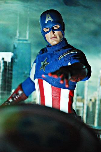 Hot Toys Movie Avengers Captain America