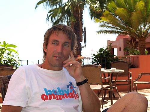 Pat Cash in Tenerife