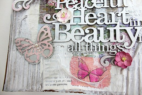 Peaceful heart detalj
