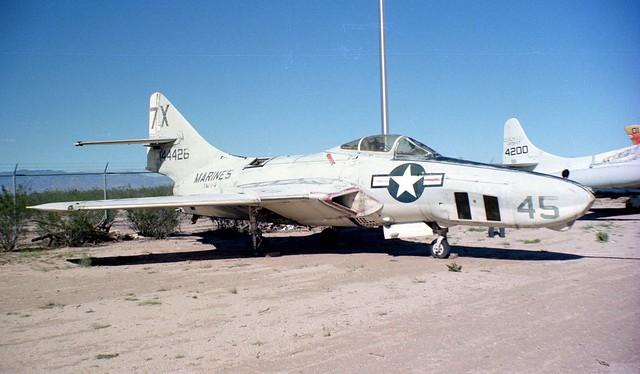 144426 Grumman RF-9J Cougar c/n 368C 3H386 VT-23