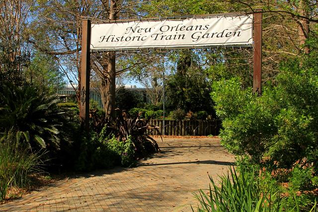 New Orleans Train Garden