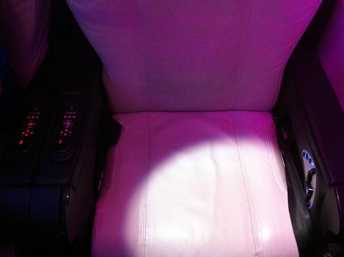 Virgin America A320 First Class Seat