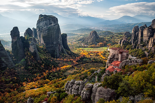 Meteora Valley by Darby Sawchuk