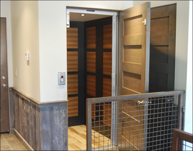 Need a wheelchair accessible elevator in your home for Wheelchair accessible house plans with elevator
