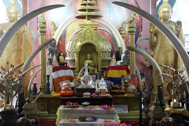 One of the many shrines