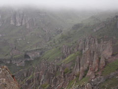 Pinnacle Rock Formations Near Goris