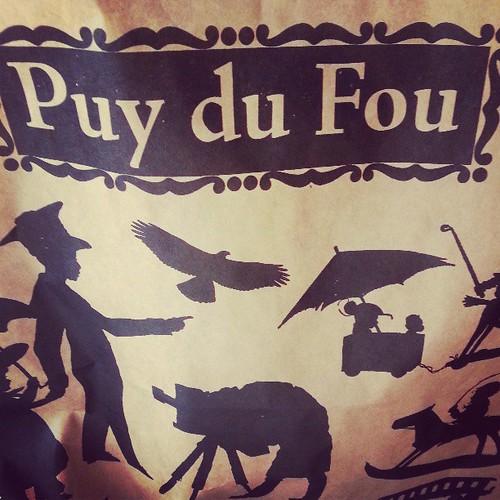 On a été a la boulangerie du @PuyduFou ♥