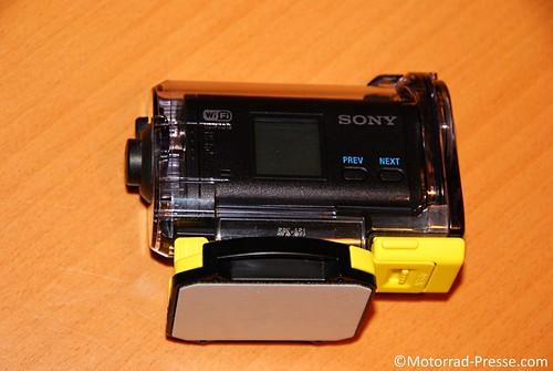 Befestigung Sony HDR-AS15