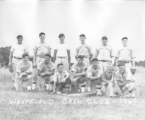Westfield Ball Club - 1947