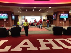 Sooner locker room