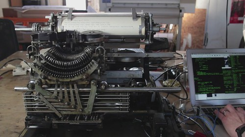 Model 15 teletype operation