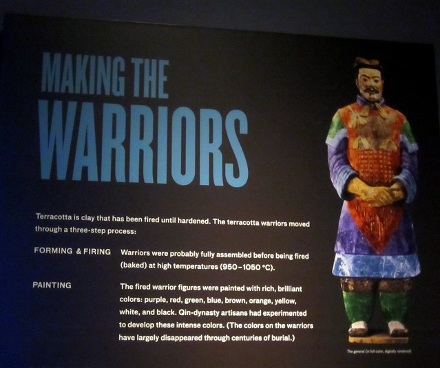 The warriors were originally in color