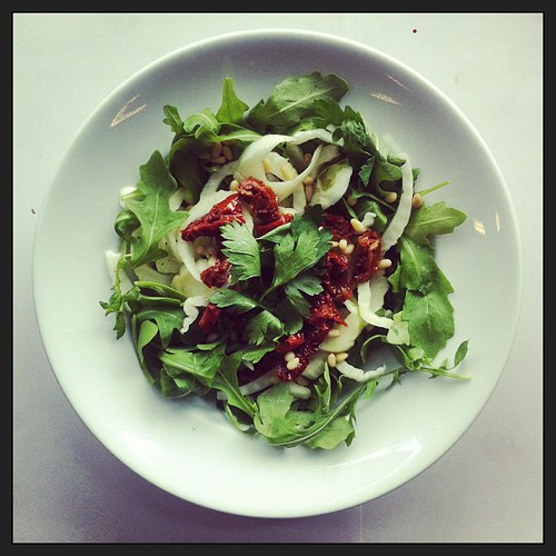 Fennel, sun dried tomatoes and rocket by Salad Pride