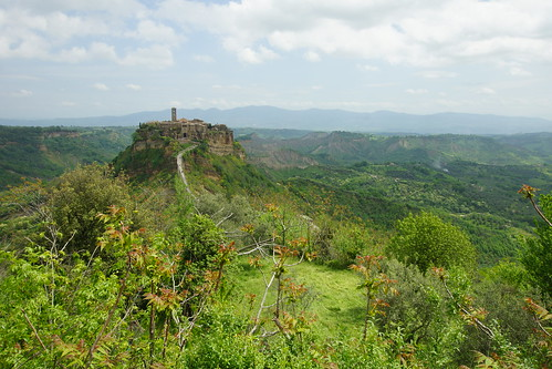 A luscious spring morning in Bagnoregio by CharlesFred